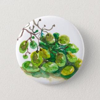 Quelques raisins badge rond 5 cm