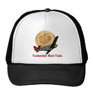 Queue de rouge de Tuskegee Casquettes De Camionneur