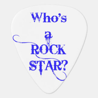 Qui est une vedette du rock ? Je suis. - Bleu Onglet De Guitare