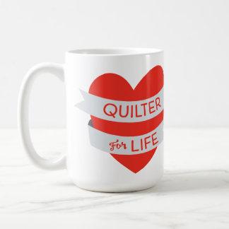 Quilter pour la tasse de la vie