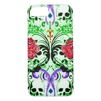 Quinte royale de crâne de Skully Coque iPhone 8/7
