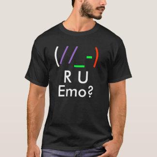 (, //, _-,), R, U, Emo ? T-shirt