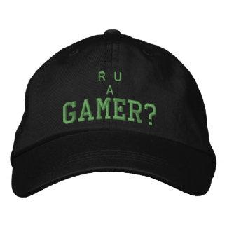 """""""R U un Gamer ? """"Êtes-vous un Gamer ? Chapeau Casquettes De Baseball Brodées"""