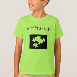 raadsel-stukken, AUTISME T Shirt