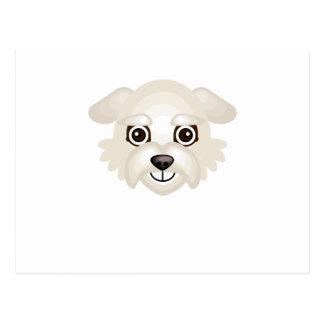 Race de chien de Dandie Dinmont Terrier - mon Carte Postale