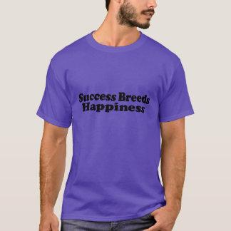 Races de succès - T-shirt pourpre