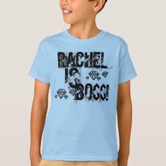 Rachel est patron t-shirt