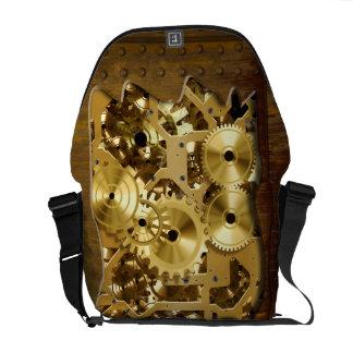 Radicale Steampunk 3 Zakken van de Boodschapper Messenger Bag