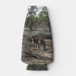 Rafraichisseur De Bouteilles Kangourou dans l'intérieur Australie,