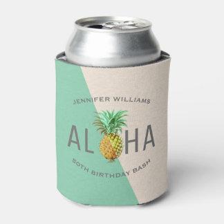 Rafraichisseur De Cannettes Aloha ananas, cinquantième coup d'anniversaire de