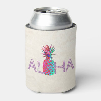 Rafraichisseur De Cannettes Aloha ananas hawaïen adorable