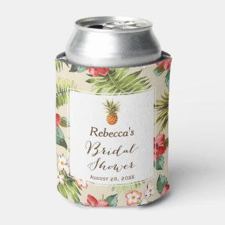 Rafraichisseur De Cannettes Faveur nuptiale de douche d'ananas tropical de