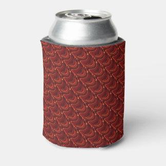Rafraichisseur De Cannettes La douille rouge de bière d'échelles de