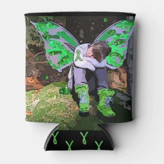 Rafraichisseur De Cannettes L'ange ou la fée de guerrier de la maladie de Lyme