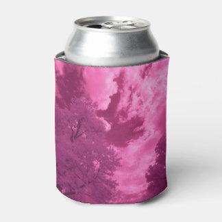 Rafraichisseur De Cannettes Nuage rosâtre d'infrarouge de tonalités