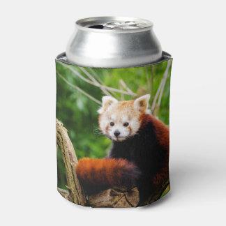 Rafraichisseur De Cannettes Ours panda rouge mignon