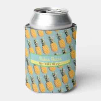 Rafraichisseur De Cannettes partie tropicale d'ananas fait sur commande