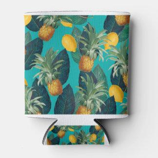 Rafraichisseur De Cannettes pineaple et citrons turquoises
