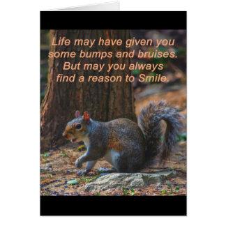 Raison de sourire carte de voeux