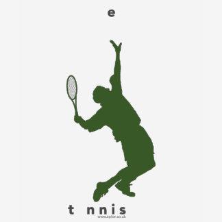 Browse alle tshirts met Tennis Designs. Kies een kleur  en personaliseer met eigen tekst.