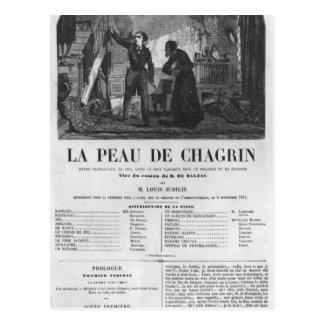 Raphael de Valentin et le commerçant Carte Postale