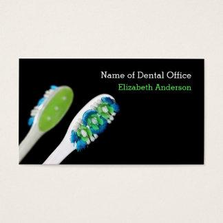 Rappel dentaire de rendez-vous de dentiste moderne cartes de visite