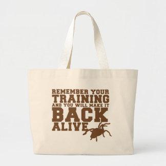 Rappelez-vous que votre formation et vous lui fere sac en toile jumbo