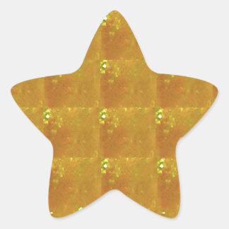 Rapport optique d'or HealingSTONE du CRISTAL 2000X Sticker Étoile
