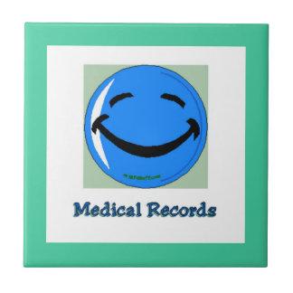 Rapports médicaux d'à haute fréquence carreau