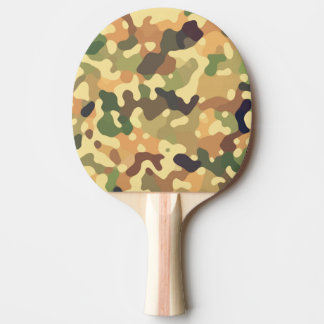 Raquette De Ping Pong Automne de Camo
