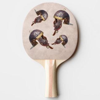Raquette De Ping Pong Casque militaire romain antique