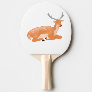 Raquette De Ping Pong cerfs communs