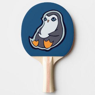 Raquette De Ping Pong Conception douce de détente de dessin d'encre de
