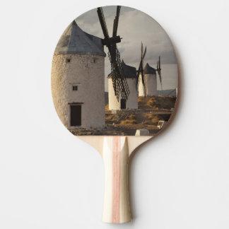 Raquette De Ping Pong Consuegra, moulins à vent antiques 6 de Mancha de