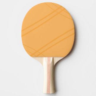 Raquette De Ping Pong Crissed jaune-orange croisé