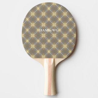 Raquette De Ping Pong Dos rouge en caoutchouc de palette de ping-pong de