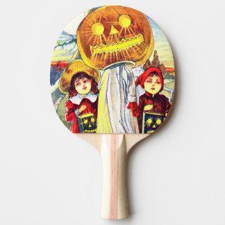 Raquette De Ping Pong Fantôme de citrouille de Falln Halloween