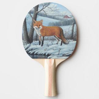 Raquette De Ping Pong Fox rouge