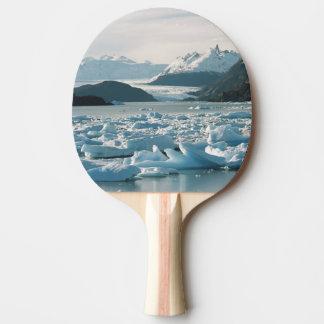Raquette De Ping Pong Icebergs glaciaires