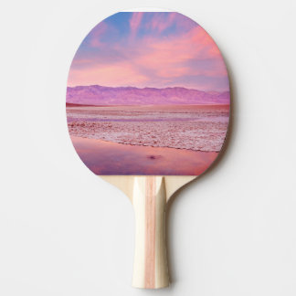 Raquette De Ping Pong Lac Death Valley water