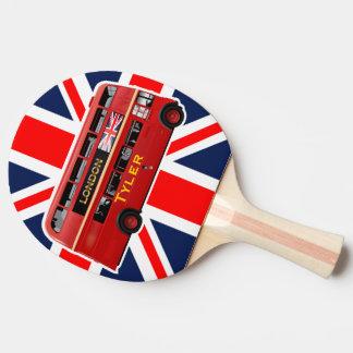 Raquette De Ping Pong L'autobus à impériale rouge de Londres