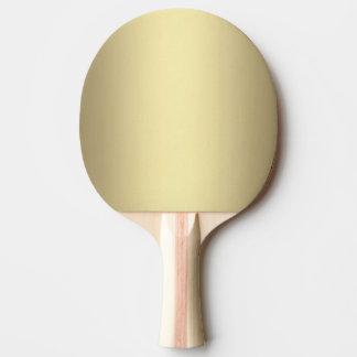 Raquette De Ping Pong Lueur d'or