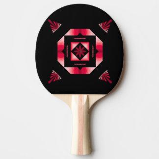 Raquette De Ping Pong Noir et rouge