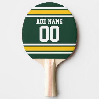 Raquette De Ping Pong Nombre nommé fait sur commande du Jersey du