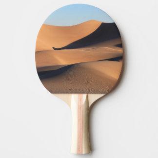 Raquette De Ping Pong Ombres extraordinaires de désert