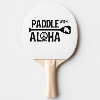 Raquette De Ping Pong Palette avec Aloha - palette de puanteur de