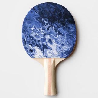 Raquette De Ping Pong Palette bleue de ping-pong d'abrégé sur arbre