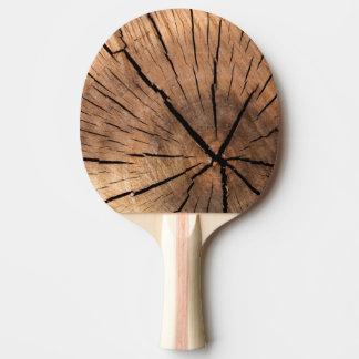 Raquette De Ping Pong Palette d'arbre de ping-pong vieille