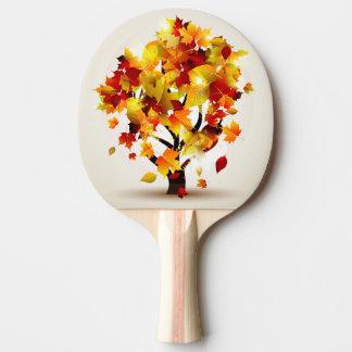 Raquette De Ping Pong Palette de ping-pong d'arbre d'automne