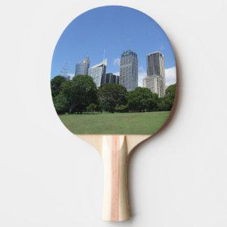 Raquette De Ping Pong Palette de ping-pong d'horizon de Sydney